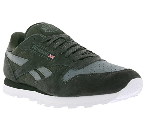 Reebok Classic Leather Chambray Uomo Sneaker Grigio