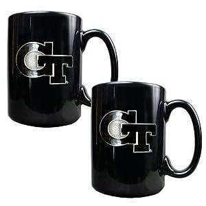 Georgia Tech Yellowjackets NCAA 2pc Coffee Mug Set by Great American