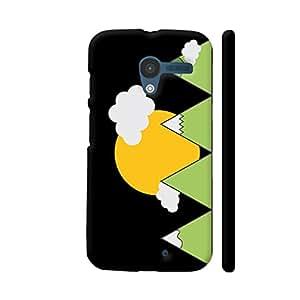Colorpur Mountain Landscape Designer Mobile Phone Case Back Cover For Motorola Moto X1   Artist: Torben