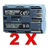 2 New Battery BP511 for Canon PowerShot G3 G5 G6 G1 G2