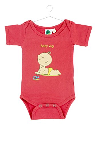 Earthinstore'S Soft & Stylish Organic Cotton And Bamboo Baby Onesie - Baby Yogi- (3-6 Months) front-3131