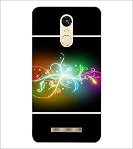 PrintDhaba Digital Design D-1411 Back Case Cover for XIAOMI REDMI NOTE 3 (Multi-Coloured)