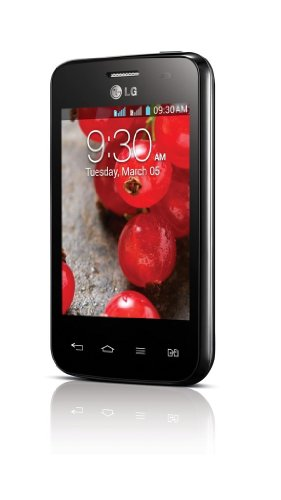 LG E435 Optimus L3 II Black Dual Sim Unlocked Android Phone