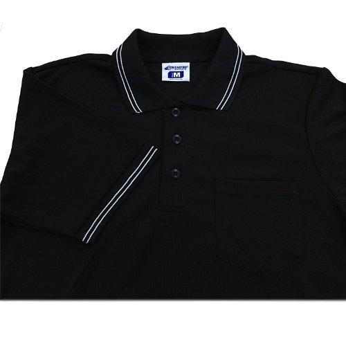 Champro Dri-Gear Umpire Polos Black 2Xl