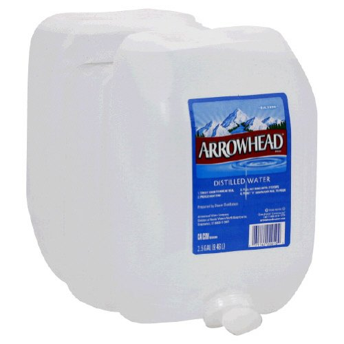 Arrowhead Water Distilled 2.5 Gal (Pack Of 2)