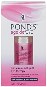 Pond's Age DefEye Anti-Circle Anti-Puff Eye Therapy with Vitamin K & Anti-Oxidants, .5-Ounce Bottles (Pack of 2)