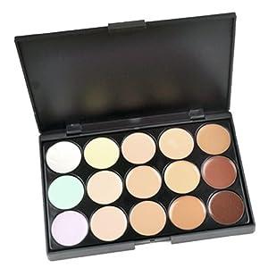Finejo Professional 15 Color Concealer Camouflage Makeup Palette