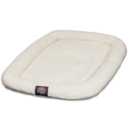 24 inch Sherpa Crate Pet Bed Mat By Majestic Pet Products