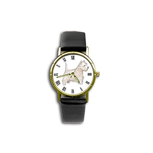 West Highland Terrier Watch (Dog Breed Wristwatch) - Westie