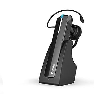HAVIT HV-H913BT wireless Bluetooth 4.0 Headset, für Apple iPhone und anderen Bluetooth-Gerät, Schwarz