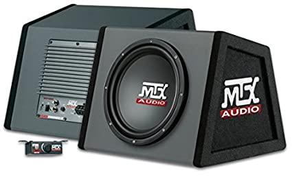Ea Performance - Caisson Amplifié Mtx Audio Clos Rt10P 25Cm 150W Rms