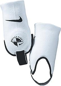 Nike Ankle Shields White/Black OSFA