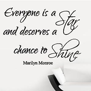 v c designs ltd marilyn monroe everyone is a star. Black Bedroom Furniture Sets. Home Design Ideas