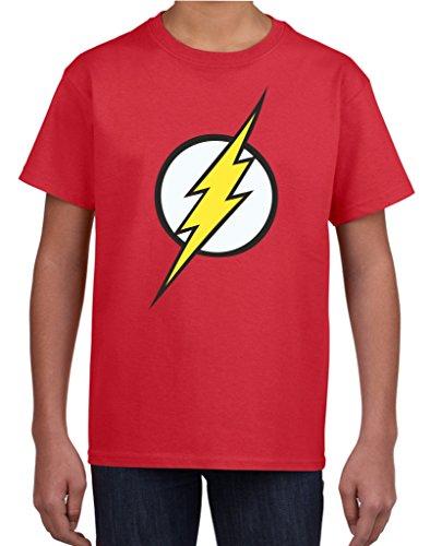 Flash Bambini Maglietta Red S