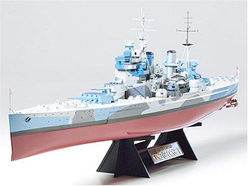 Tamiya-300078010-1350-WWII-Britische-Kampfschiffe-King-George-V