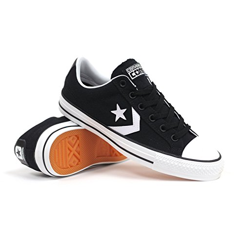 Converse Star Player Pro (Black/White) Men's Skate Shoes-10
