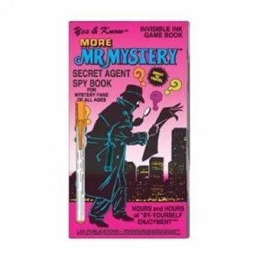 More Mr. Mystery - Invisible Ink Game Book - 1