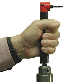 Tight Fit Tools - Aircraft Style 90 Degree Right Angle Drill Attachment