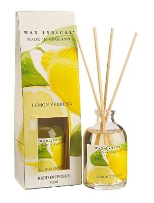 Wax Lyrical 50 ml Reed Diffuser, Lemon Verbena by Wax Lyrical