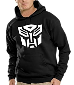 Touchlines Hooded Sweatshirt S - XXXL Transformers Logo Various Colours black Size:S