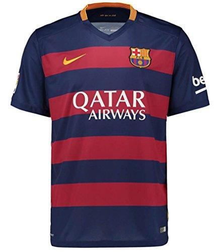 ナイキ FCバルセロナ ホームユニフォーム 2015/16 [10 メッシ] [サイズ:インポートXL] Nike FC Barcelona Home Shirt 2015/16 [10 Messi] [Size:Inport XL] [並行輸入品]