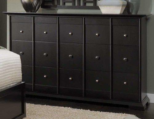 Black Bureau Dresser front-592900