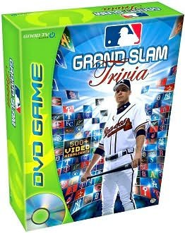 MLB Grand Slam Trivia DVD Game