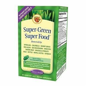 Nature's Secret Super-Green Super Food, Liquid Soft-Gels 60 ea