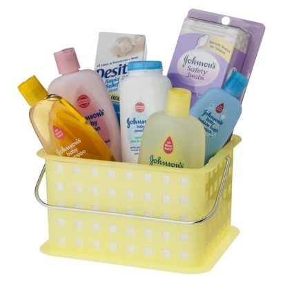 Johnson Bathtime Gift Set S Essentials Baby New Care Skin Basket Bath Oil Groom Kit Fun Wash Pure