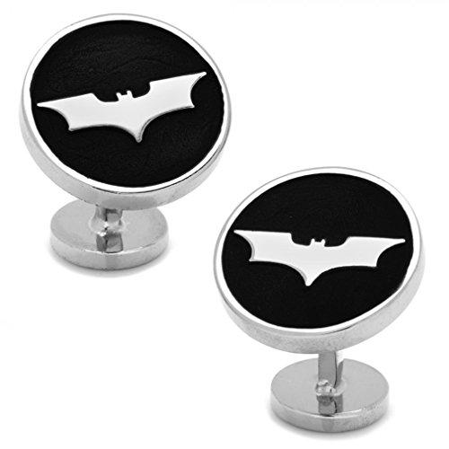 Recessed-Black-Batman-Dark-Knight-Cufflinks