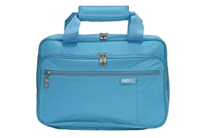 Baggallini Luggage Complete Cosmetic Bag, Turquoise, One Size