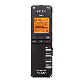(超值)TEAC VR-10 Portable Digital Recorder 便携式 数字 录音机 $98.95
