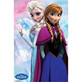 Trends Frozen, Anna and Snow Queen Elsa Poster, 24-Inch by 36-Inch