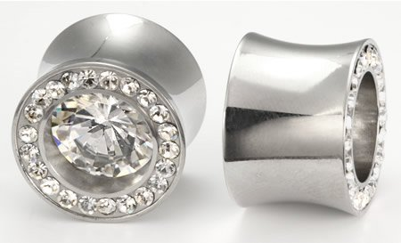 Double Flare Bling Plugs Bling Bling Bling Plugs Double