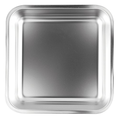 Fox Run Stainless Steel Square Cake Pan, 7.5 Inch x 7.5 Inch (Stainless Steel Square Pan compare prices)