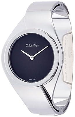 Calvin Klein K5N2S121 Ladies Senses Silver Steel Bracelet Watch