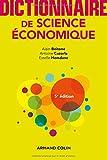 Dictionnaire de science économique - 5e éd....