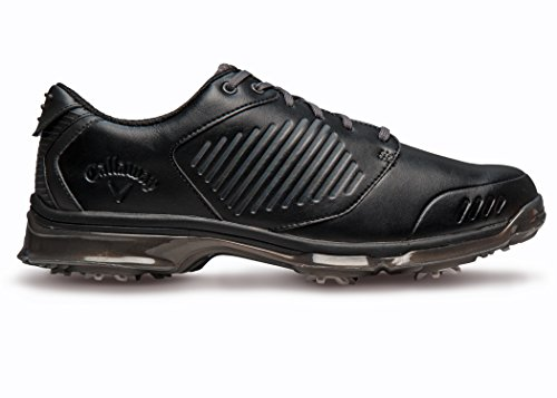 Callaway Footwear Men's X Nitro Golf Shoe, Black/Black, 10 M US