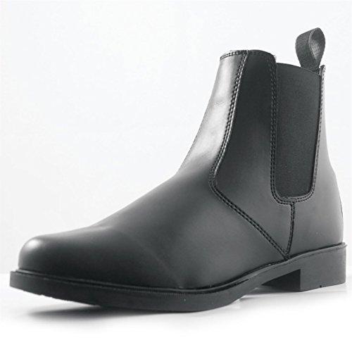 Requisite Aspen da uomo stivaletti da equitazione scarpe da equitazione, Black, (UK9) (EU43)