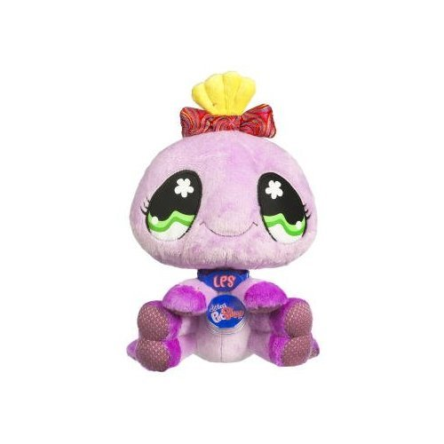 Picture of Hasbro Littlest Pet Shop VIP Virtual Interactive Pet Plush Figure Pink Spider (B001EY78W4) (Hasbro Action Figures)