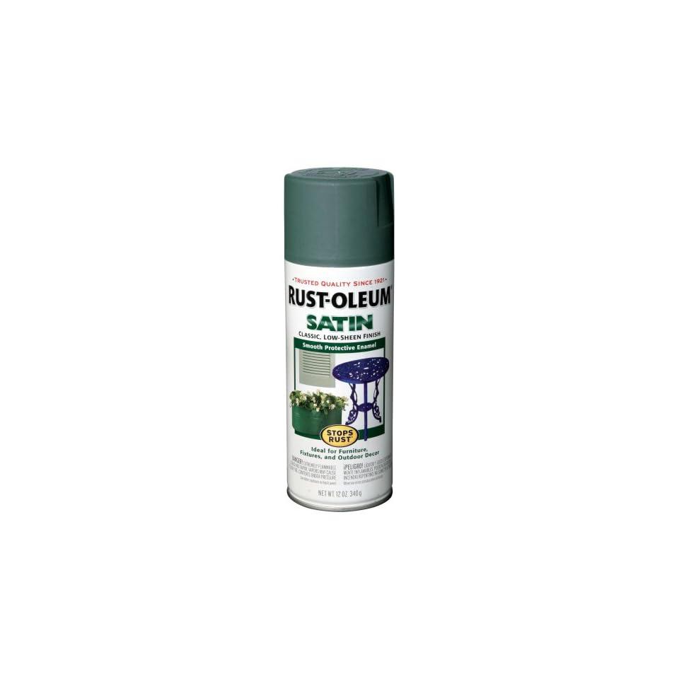 Rust Oleum 7730830 Satin Enamels Spray, Teal, 12 Ounce