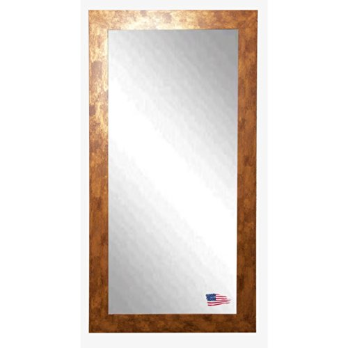 American Made Rayne Gold Stone 28.5 X 63.5 Floor Mirror front-463422