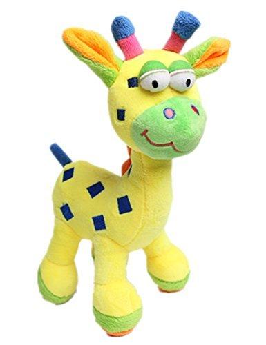 wowowotm-cute-squeaker-plush-dog-toy-short-plushpolyester-giraffe-yellow-by-wowowo