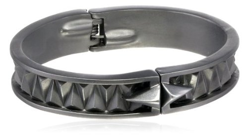 Sam Edelman 10 mm Hematite color Bangle Bracelet ladies [parallel import goods]