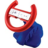 dreamGEAR Nintendo Wii Racing Wheel (blue/red)