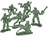 Mini Green Army Men Toy Soldier Set 72 Count