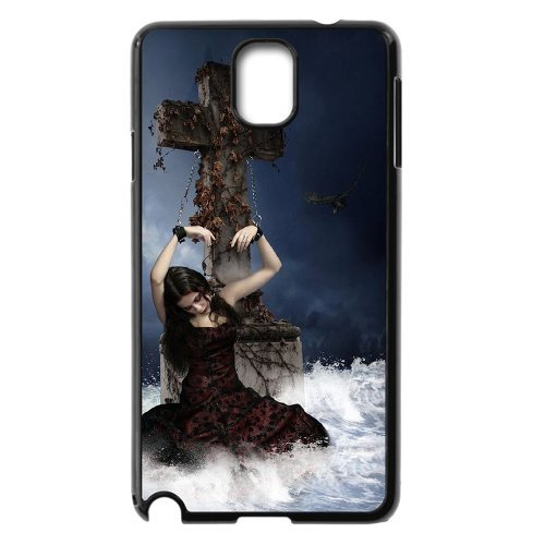 Samsung Galaxy Note 3 N9000 Gothic Death Phone Back Case Custom Art Print Design Hard Shell Protection Aq065070