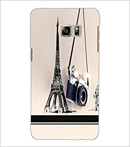 PrintDhaba Tower D-5955 Back Case Cover for SAMSUNG GALAXY NOTE 5 (Multi-Coloured)