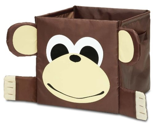"Kid Style Critter Cube, Monkey, 12 X 12 X 12"" back-538637"