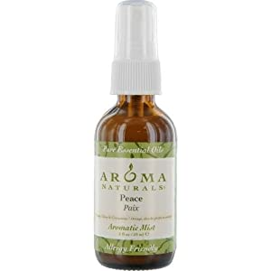 Aroma Naturals Aromatic Mist, Peace, Orange, Clove and Cinnamon, 2 Ounce